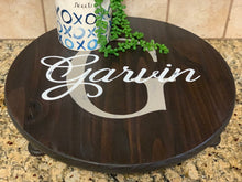 Load image into Gallery viewer, Monogram Farmhouse Decor Stand - Round Riser