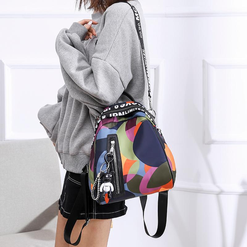 Waterproof Colorful Daily Backpack