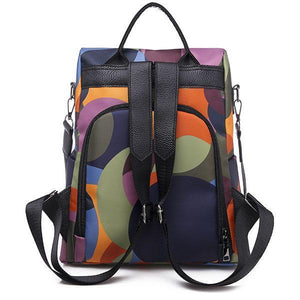 Anti-theft Multifunction Oxford Backpack