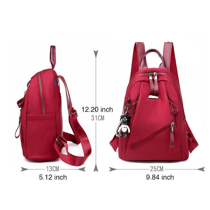 Waterproof Plain Large Capacity Backpack