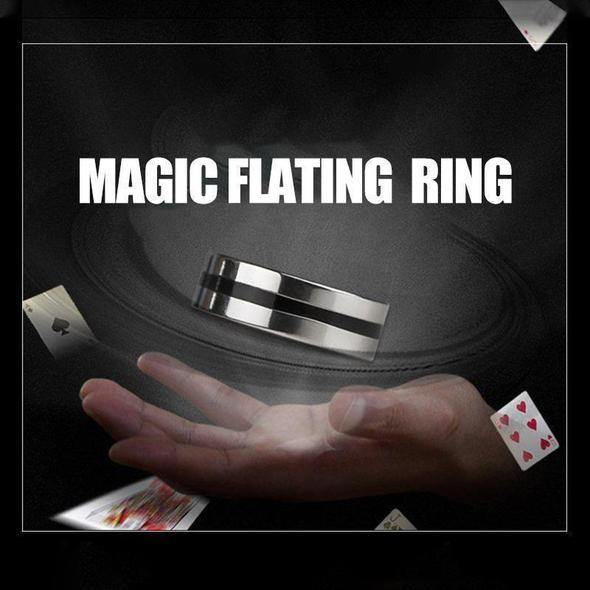 🔥50% OFF🔥Magic Props Floating Ring Magic Trick