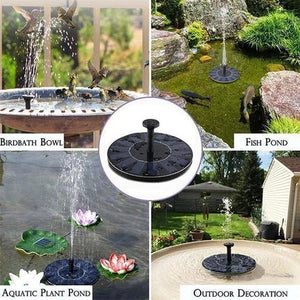 🔥50% OFF & BUY 3 FREE 3🔥 Solar Powered Bird Fountain