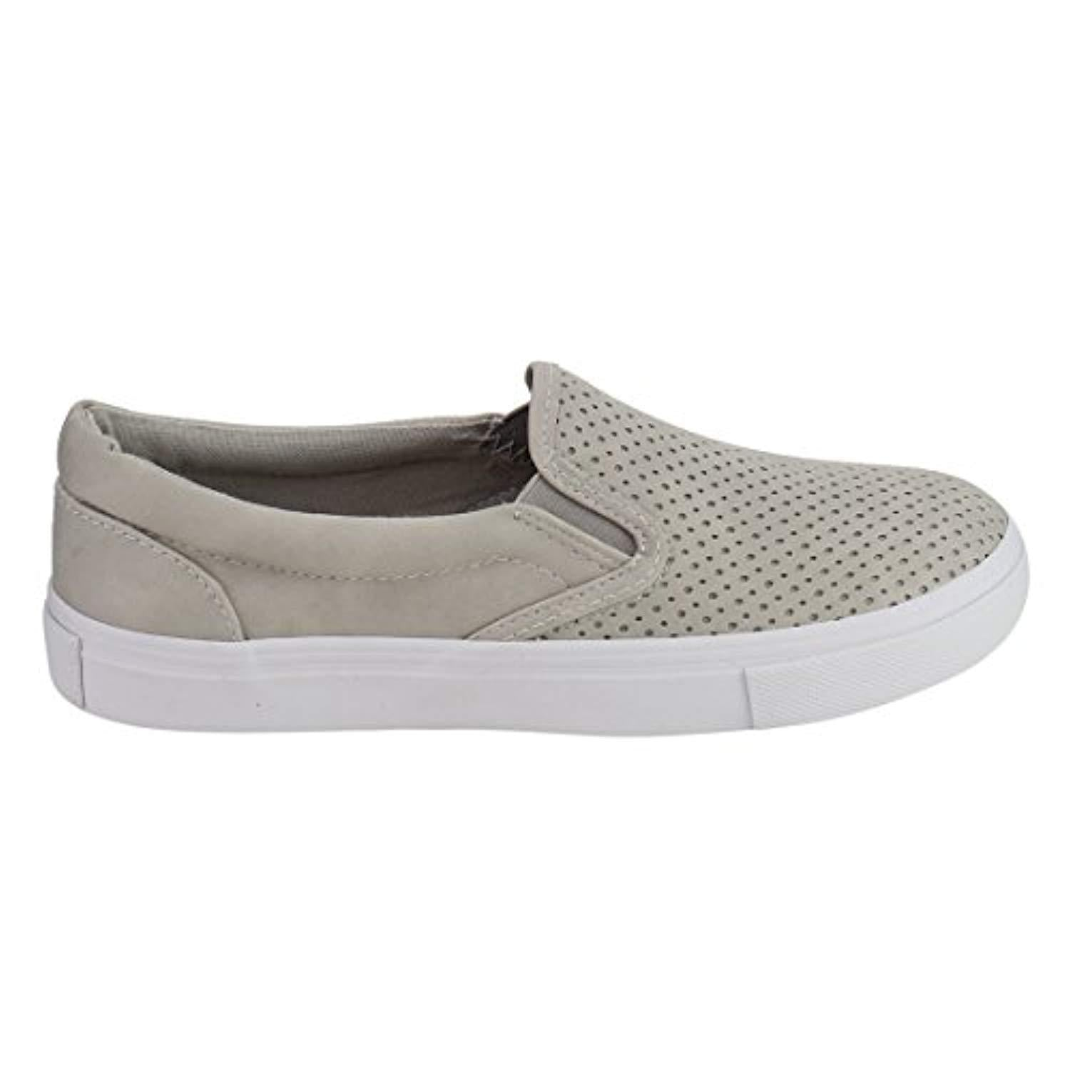 Women's Preforated Slip On Sneakers