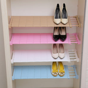 Adjustable Closet Organizer Kitchen Rack