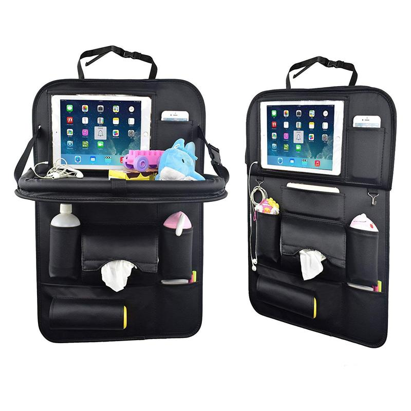 Car Back Seat Organizer With Table Tray Creativelife0