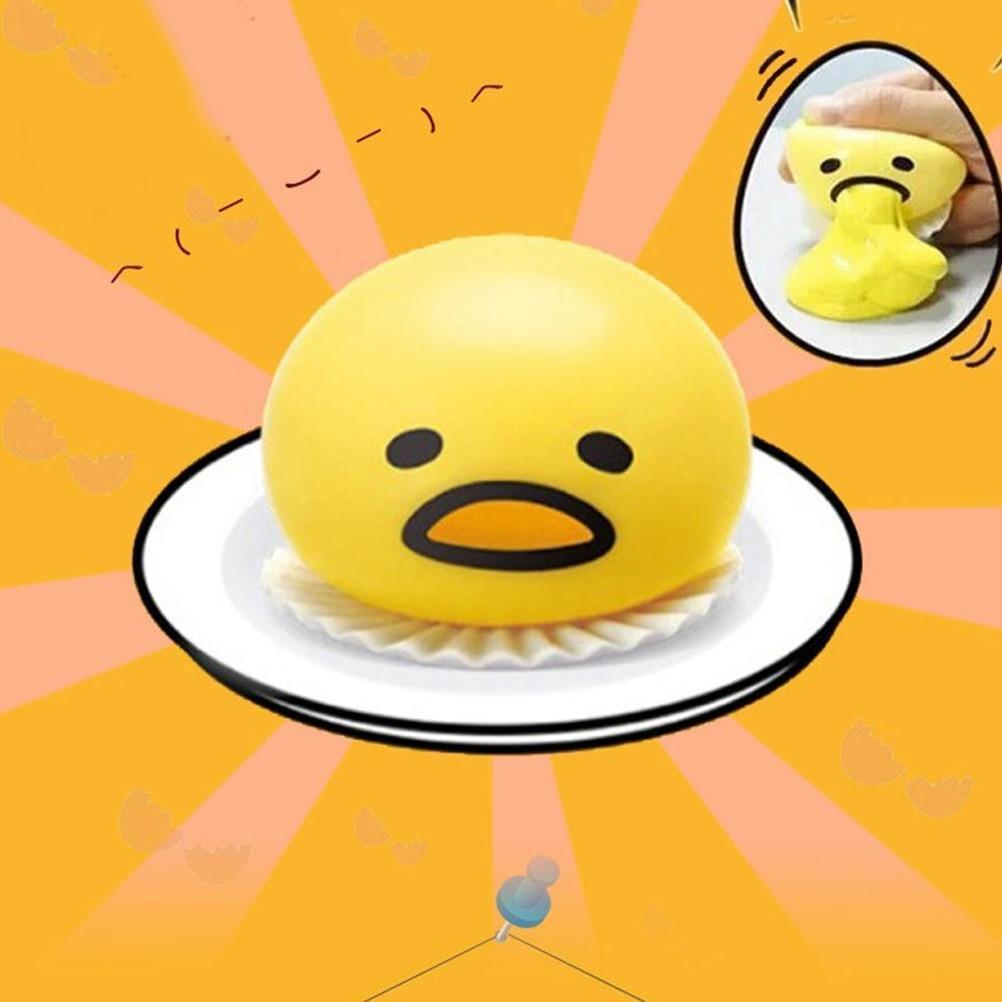 🔥50% OFF Today🔥Cute yellow round sucking and vomiting lazy