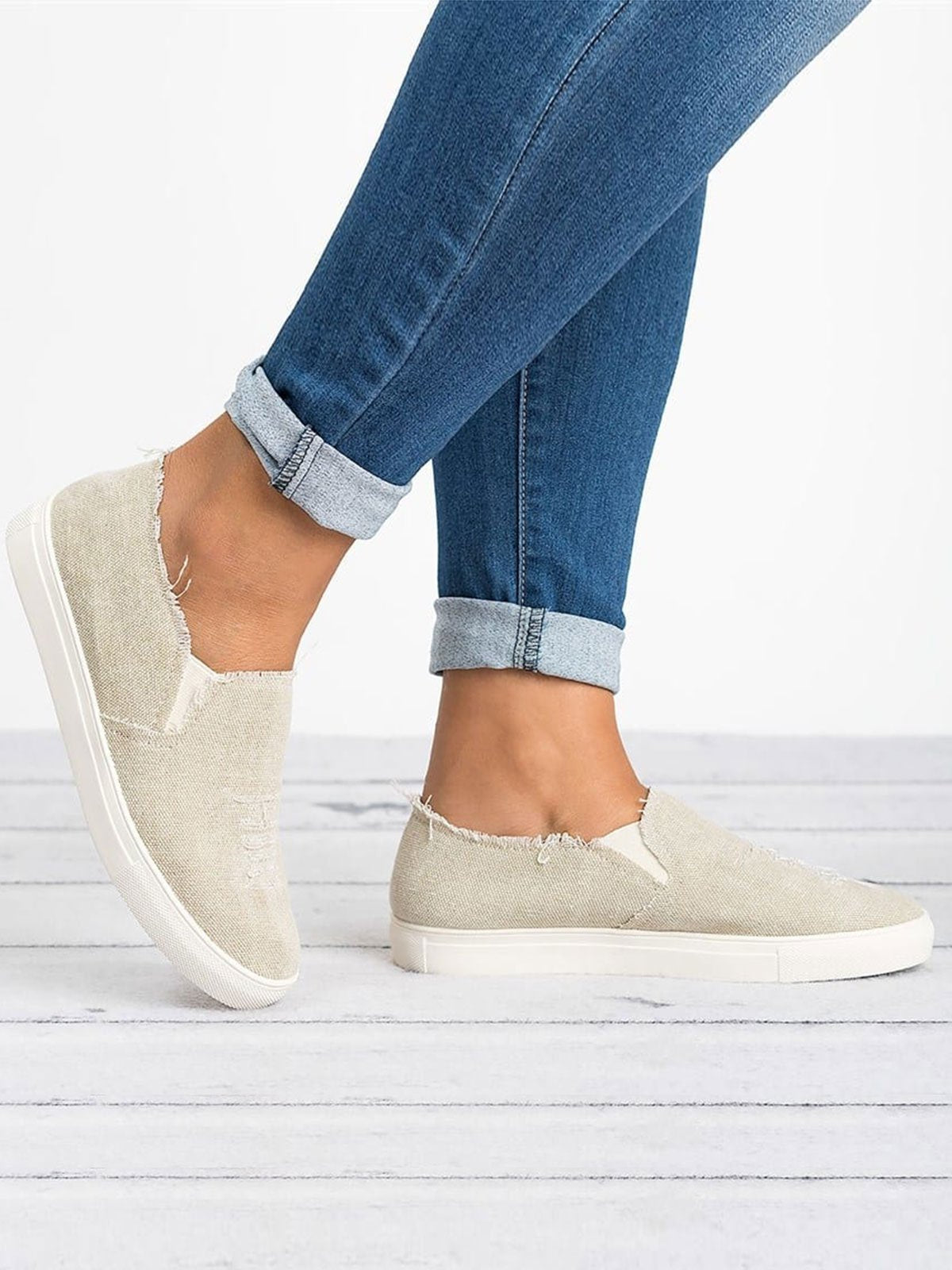 Casual Flat Heel Shoes