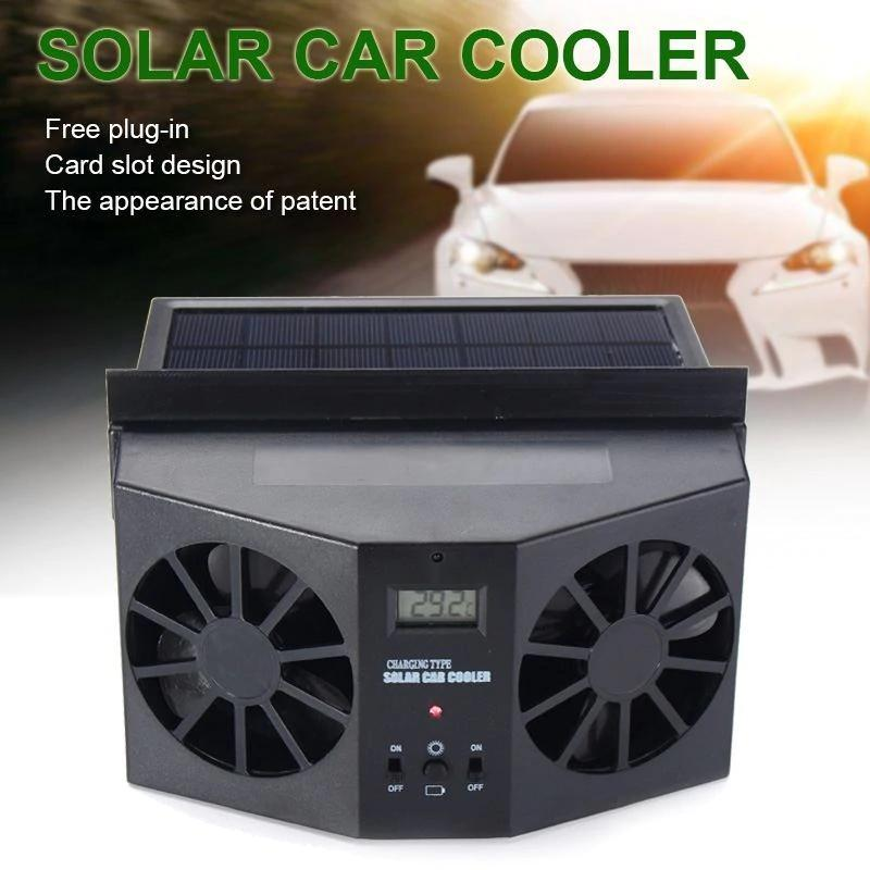 🔥50% OFF🔥Solar Powered Car Exhaust Fan