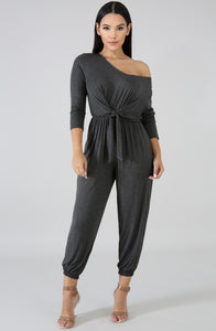 Wrapped Up In Joy Jumpsuit