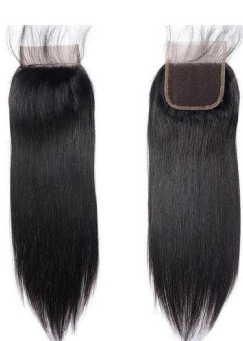 Crystal Collection Brazilian Straight Closure