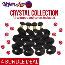 Crystal Collection 4 Brazilian Bundle Deals All Textures