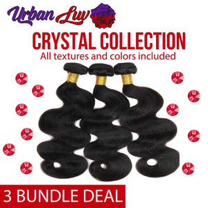 Crystal Collection 3 Brazilian Bundle Deals All Textures