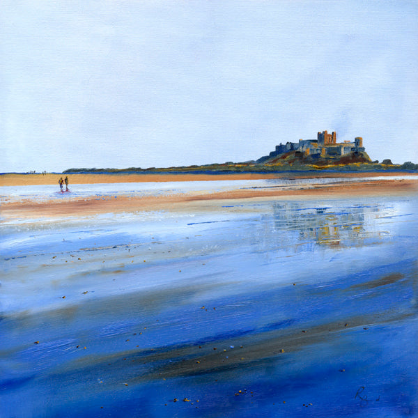Bamburgh Reflections, Square