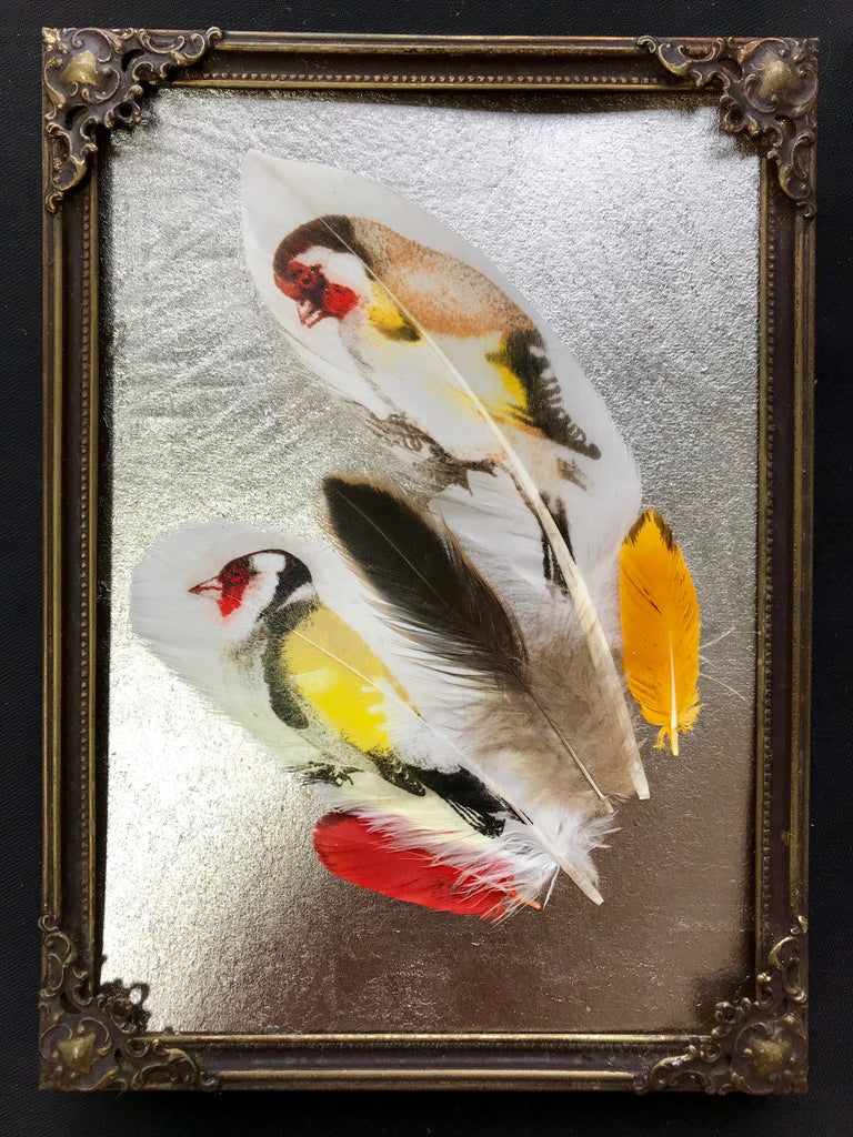 Goldfinches On Palladium