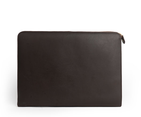 13 Inch Laptop Case No. 467 | Walnut Leather