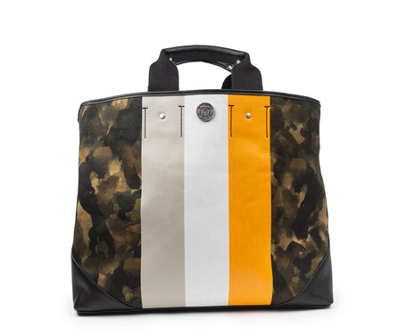 Load image into Gallery viewer, AGRA | CAMO ORANGE STRIPE