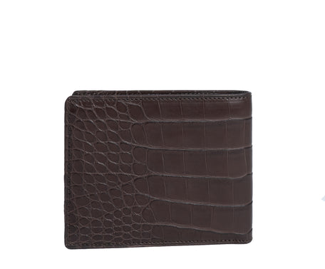 Load image into Gallery viewer, CLASSIC WALLET NO. 101 | WALNUT ALLIGATOR