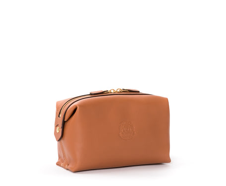Load image into Gallery viewer, Cosmetic Case No. 308 | Chestnut Leather