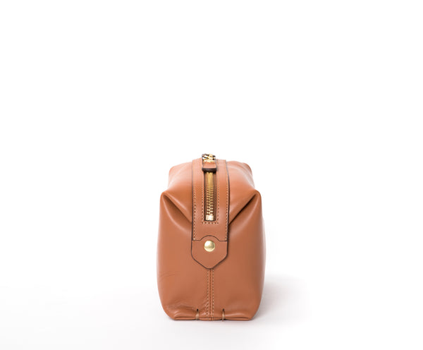 Cosmetic Case No. 308 | Chestnut Leather