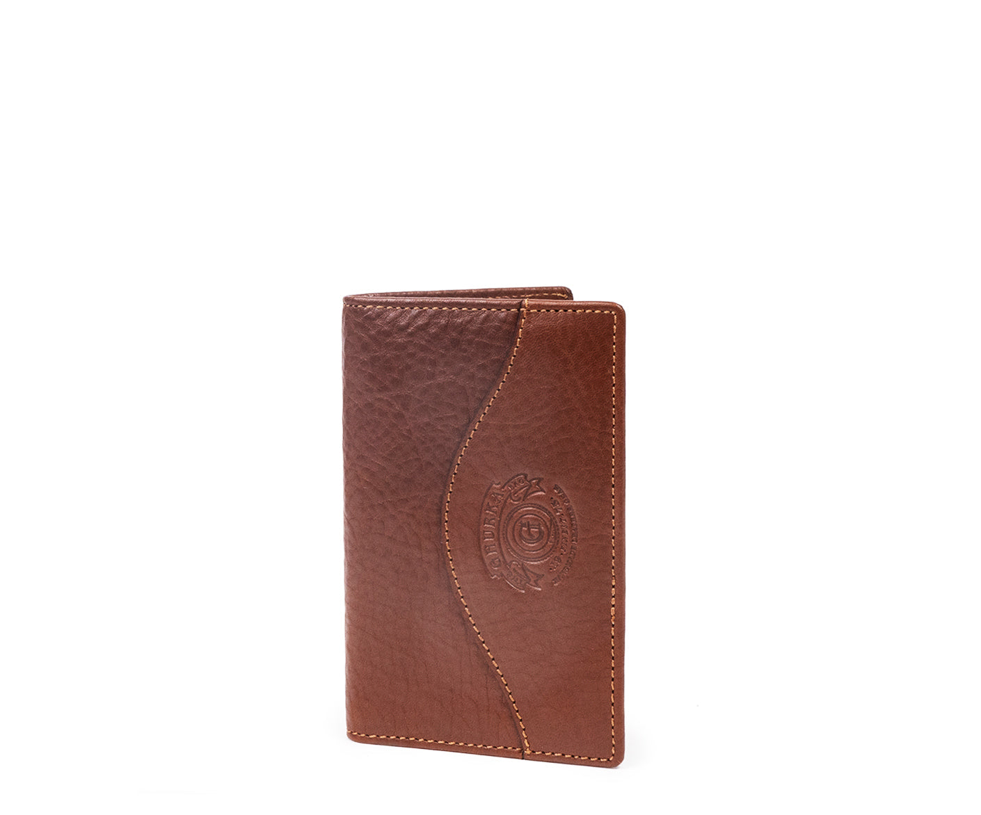 Credit Card Window Wallet No. 202 | Vintage Chestnut Leather
