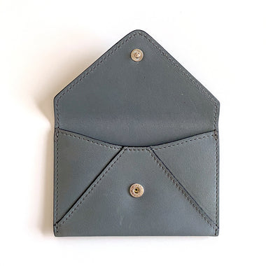Load image into Gallery viewer, Envelope Card Case  | Dusk Leather