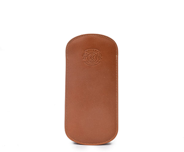 Eyeglass Case No. 196 | Chestnut Leather