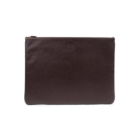 Load image into Gallery viewer, FOLIO LEATHER DOCUMENT POUCH