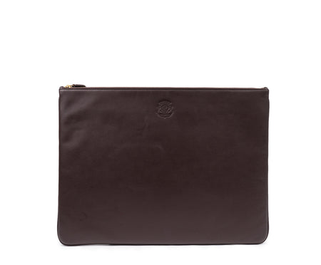 FOLIO LEATHER DOCUMENT POUCH