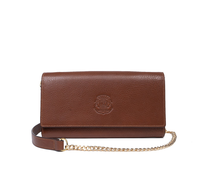 Gena Chain No. 434 | Vintage Chestnut Leather