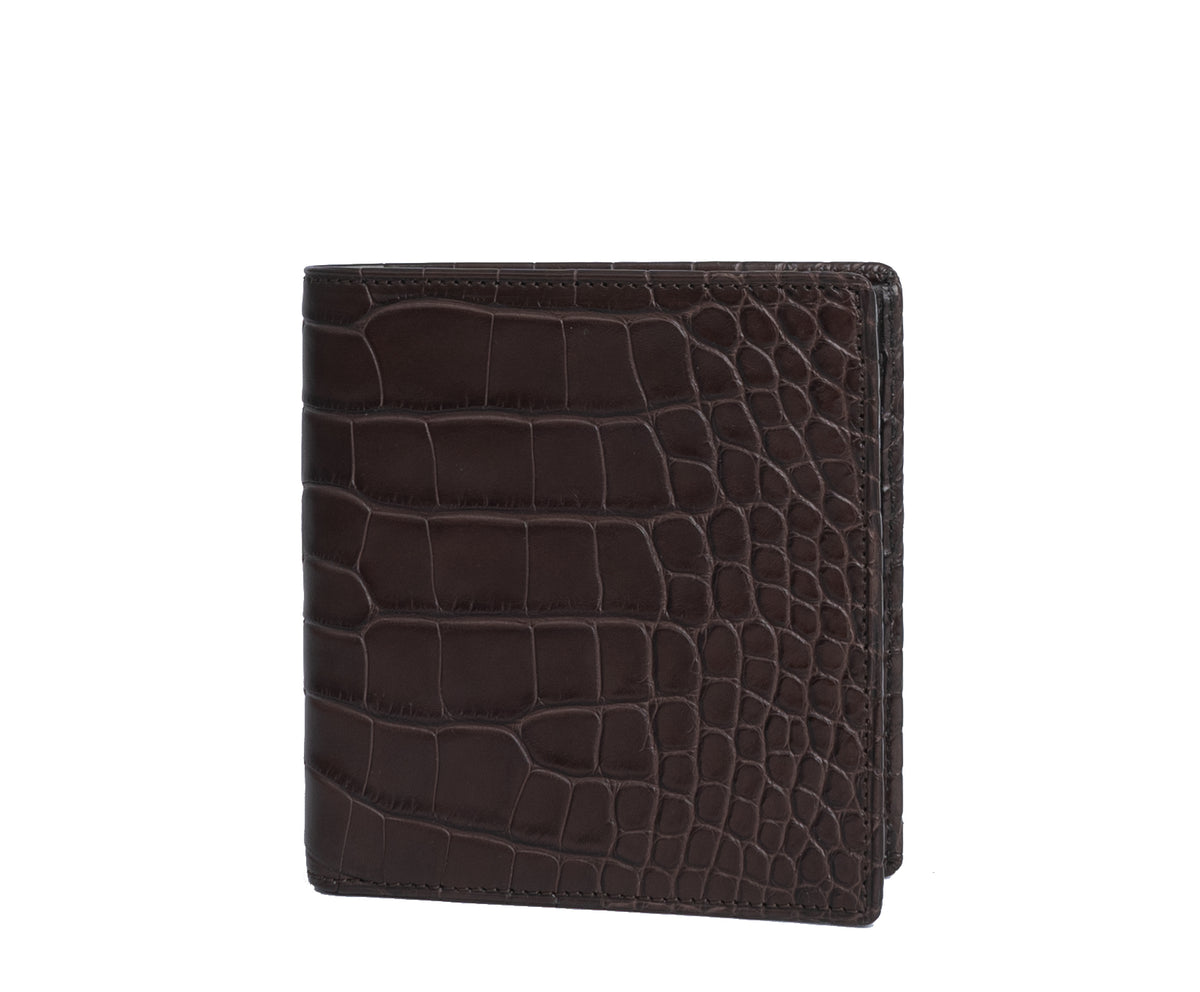 International Wallet No. 104 | Walnut Alligator