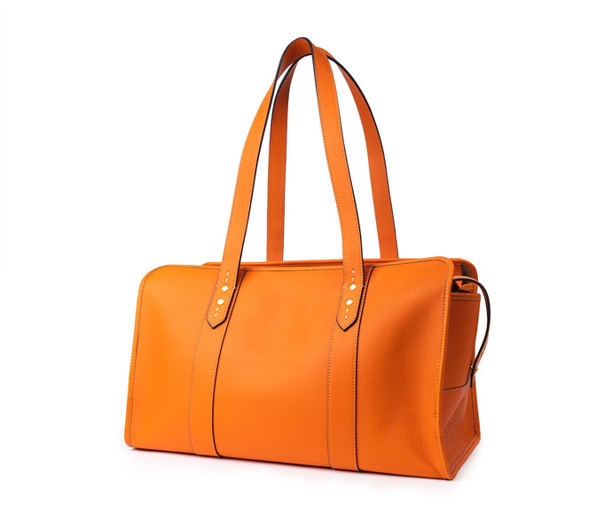 JASPER I NO. 754 | ORANGE LEATHER