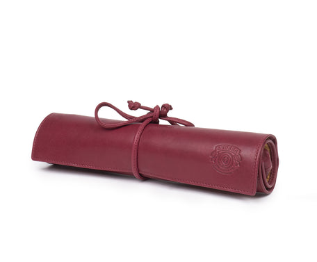 Load image into Gallery viewer, Jewelry Roll No. 229 | Bordeaux Leather