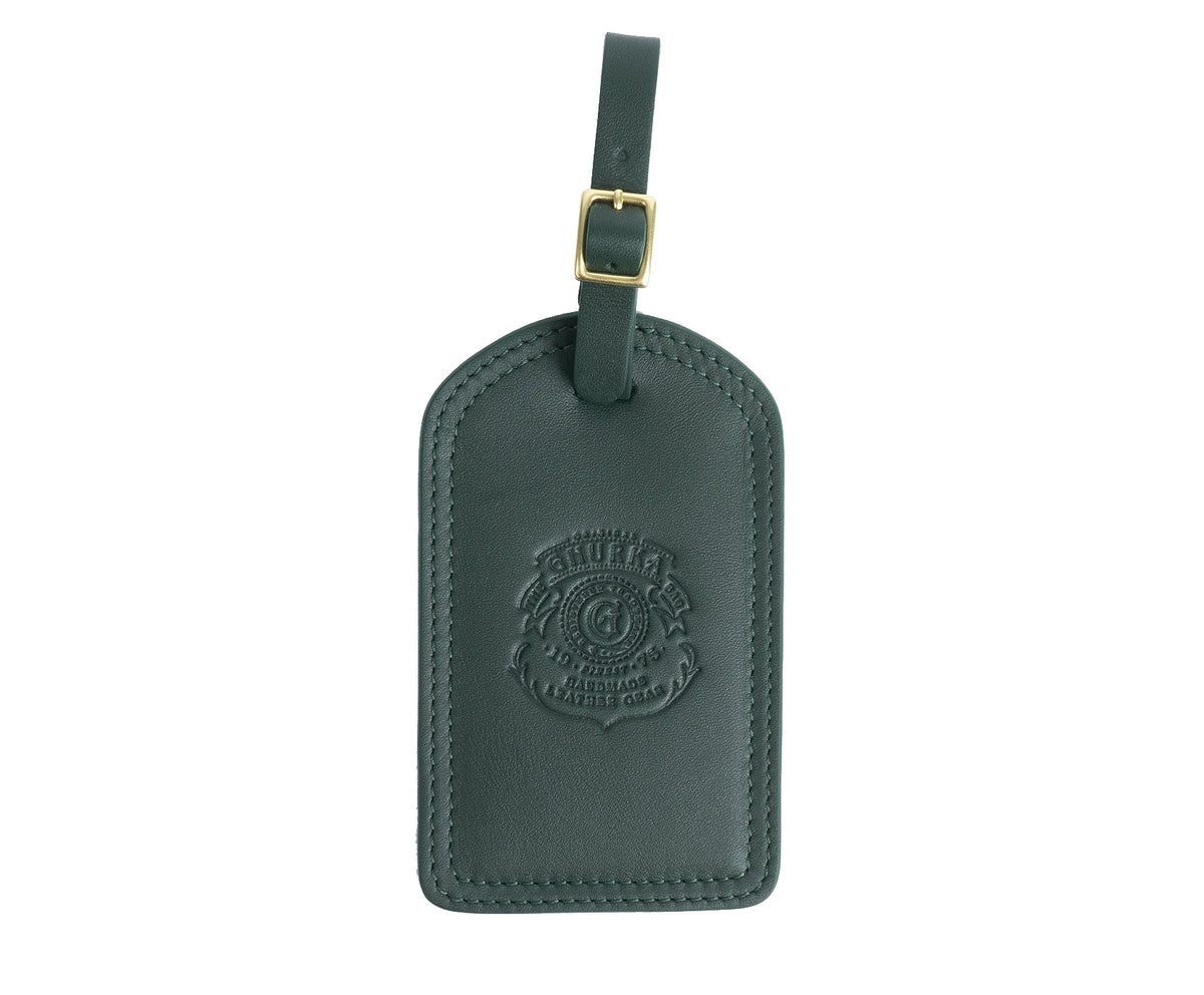 Luggage Tag No. 100 | Bonsai Leather