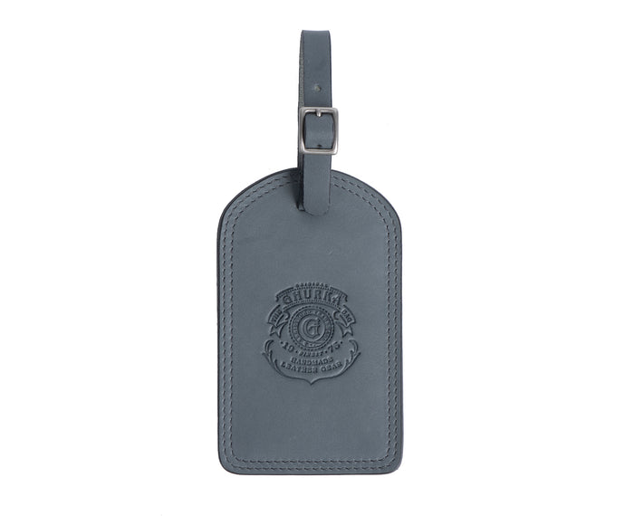 Luggage Tag No. 100 | Dusk Leather