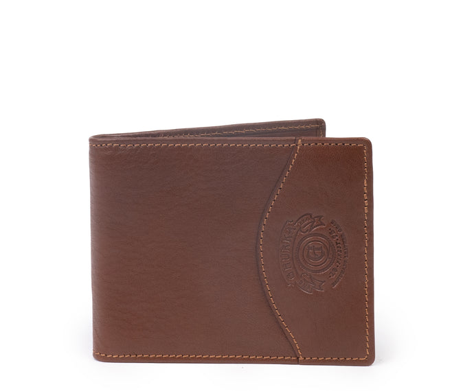MONEY CLIP WALLET No. 133 | VINTAGE CHESTNUT LEATHER