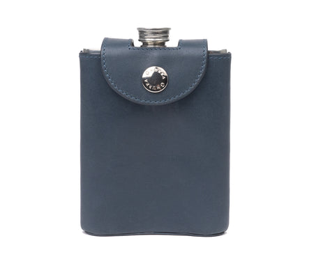PEWTER FLASK No. 220 | ECLIPSE LEATHER