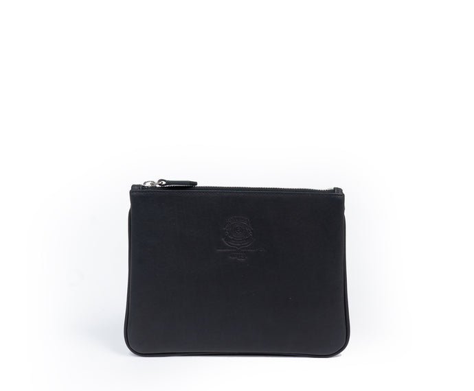 POUCH I NO. 63 | BLACK LEATHER