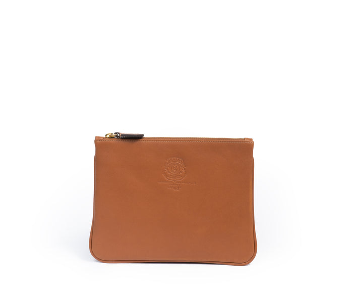 POUCH I NO. 63 | CHESTNUT LEATHER