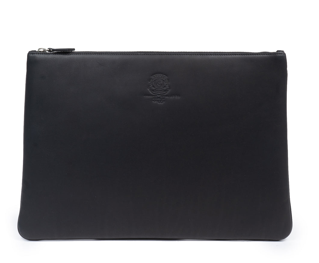 POUCH III NO. 65 | BLACK LEATHER