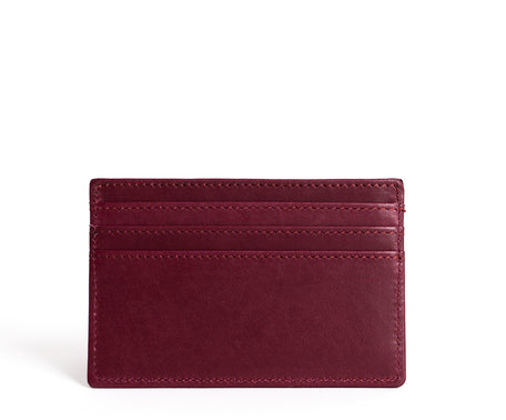 Load image into Gallery viewer, Slim Credit Card Case No. 204 | Bordeaux Leather