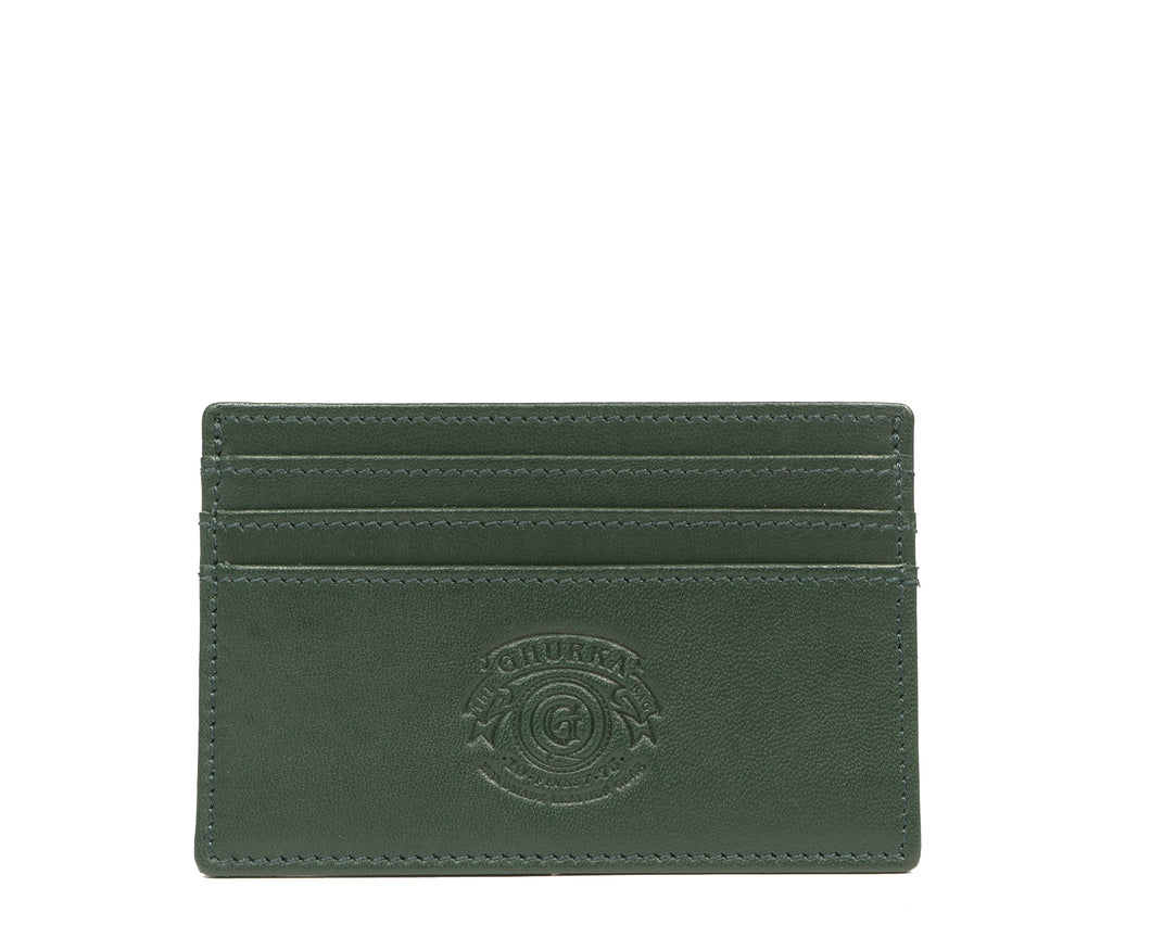 SLIM CREDIT CARD CASE No. 204 | BONSAI LEATHER