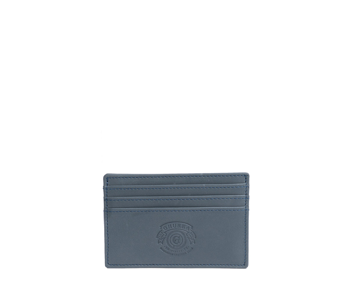 Slim Credit Card Case No. 204 | Dusk Leather