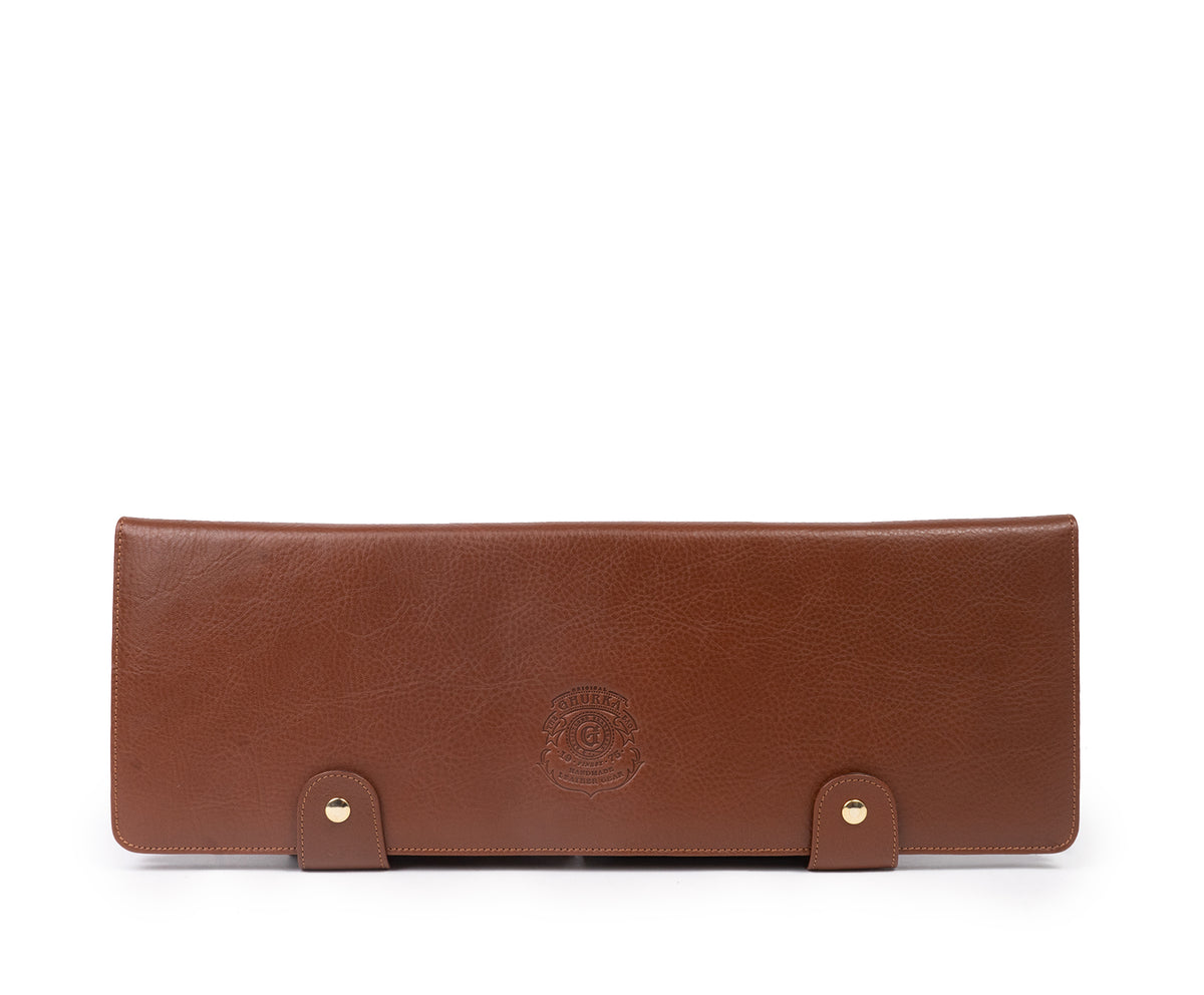 Tie Case No. 95 | Vintage Chestnut Leather