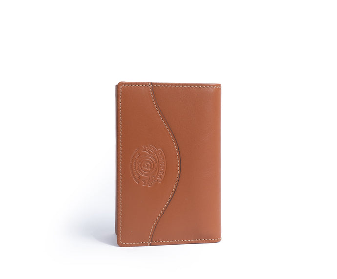 TRIFOLD WALLET No. 118 | CHESTNUT LEATHER