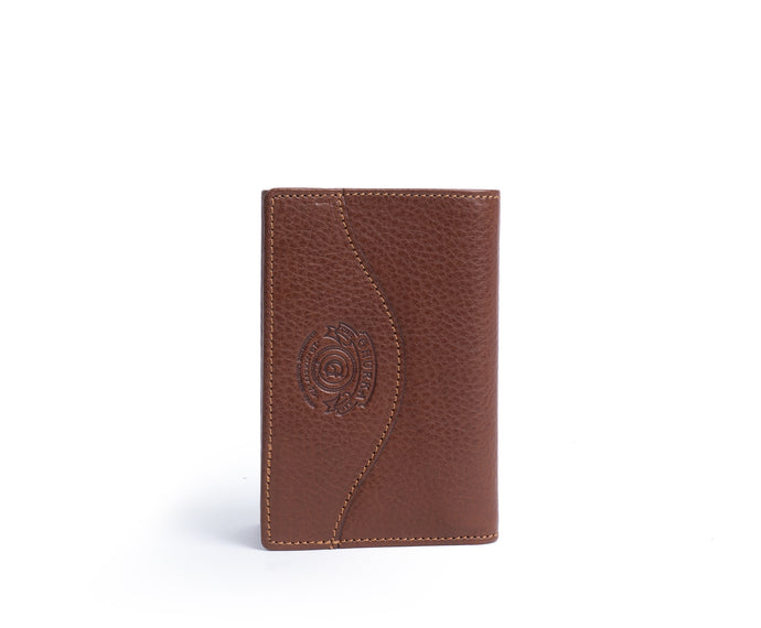 TRIFOLD WALLET No. 118 | VINTAGE CHESTNUT LEATHER