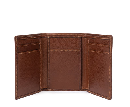 Load image into Gallery viewer, TRIFOLD WALLET No. 118 | VINTAGE CHESTNUT LEATHER
