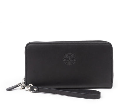 Load image into Gallery viewer, Zip Clutch Wallet No. 211 | Black Leather