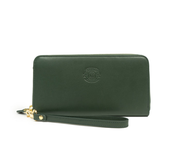 ZIP CLUTCH WALLET No. 211 | BONSAI LEATHER