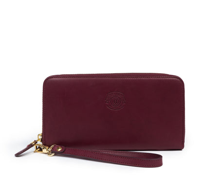 Load image into Gallery viewer, Zip Clutch Wallet No. 211 | Bordeaux Leather