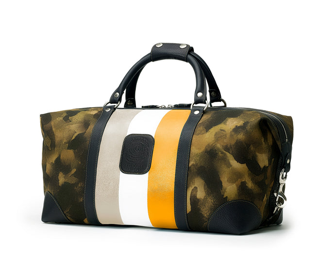 CAVALIER I No. 96 | CAMO ORANGE STRIPE